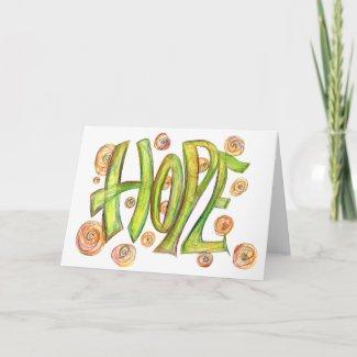 Inspirational Healing Hope Card