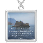 Inspirational HEALING quote jewlery Personalized Necklace