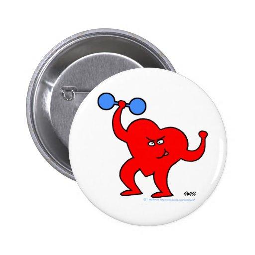 Inspirational Heart Health Exercise Button