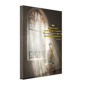 Inspirational - Heavenly Father - Senrenity Prayer Canvas Print