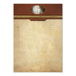Inspirational - Heavenly Father - Senrenity Prayer 5x7 Paper Invitation Card