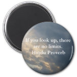 inspirational Hindu Proverb from India Refrigerator Magnets