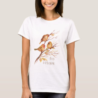 Inspirational His Eye is on the Sparrow, T-Shirt