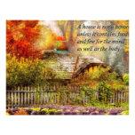 Inspirational - Home is where it's warm inside Custom Flyer