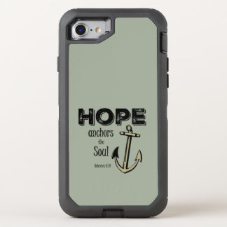Inspirational Hope Bible Verse OtterBox Defender iPhone 7 Case