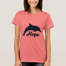 Inspirational Hope Dolphin Women's Tee