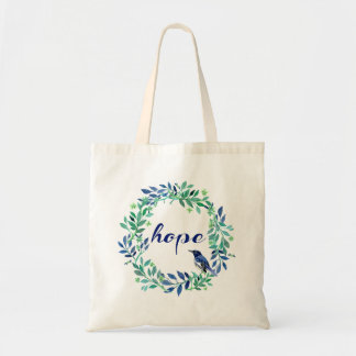 Inspirational Hope Quote Tote Bag