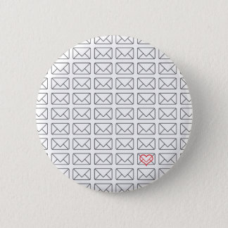 Inspirational I Love you note Button