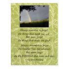 Inspirational Irish Blessing Always Remember Postcard