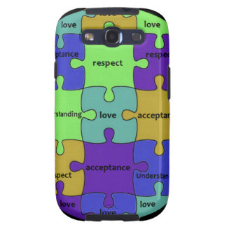 INSPIRATIONAL JIGSAW PUZZLE QUOTE SAMSUNG GALAXY S3 COVER