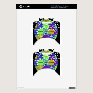 INSPIRATIONAL JIGSAW PUZZLE QUOTE XBOX 360 CONTROLLER DECAL
