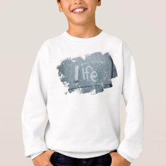 Inspirational life boho rustic blue sweatshirt