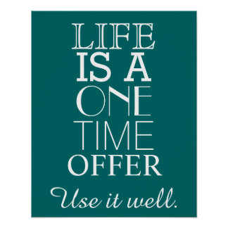 Poster Quotes About Life Adorable Life Quotes Posters  Zazzle