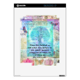 Inspirational Life Quote Skins For iPad 2