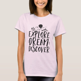 Inspirational Life Quote Typography T shirt
