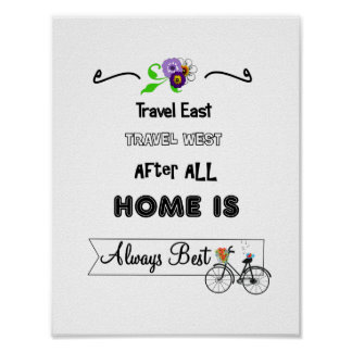 Inspirational Life Words Homely Poster