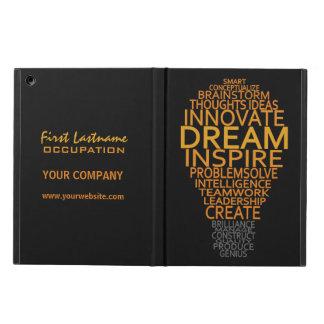 Inspirational Light Bulb custom cases iPad Air Case