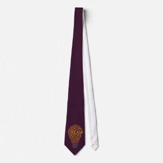 Inspirational Light Bulb custom tie