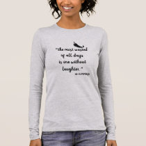 Inspirational Long Sleeve Shirt for Women