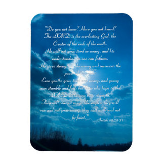 Inspirational Magnet - Isaiah 40;28-31