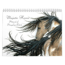 Inspirational Majestic Horses by BiHrLe Calendar