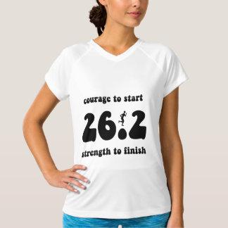 Inspirational marathon tee shirt