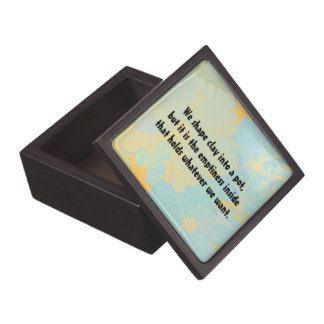 inspirational message gift box
