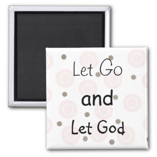 Inspirational Message 2 Inch Square Magnet