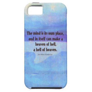 Inspirational Milton quote Paradise Lost iPhone SE/5/5s Case