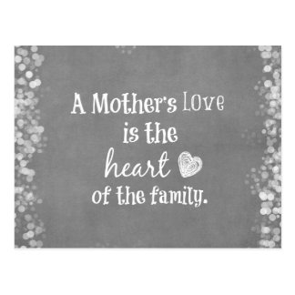 Inspirational Mom Quote Post Cards