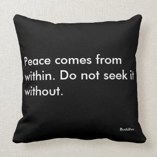 Inspirational Motivational Quote Pillow