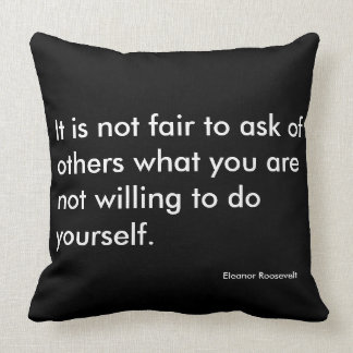 Inspirational Motivational Quote Pillow