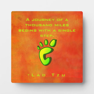 Inspirational Motivational Wisdom by Lao Tzu Plaque