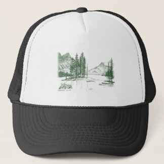 Inspirational Mountain Heights Trucker Hat