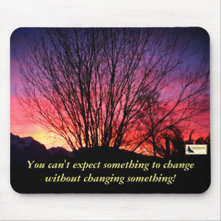 Inspirational Mouse Pad - Keep Moving