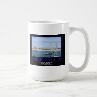 Inspirational Mug!  The Universal Law! Coffee Mug