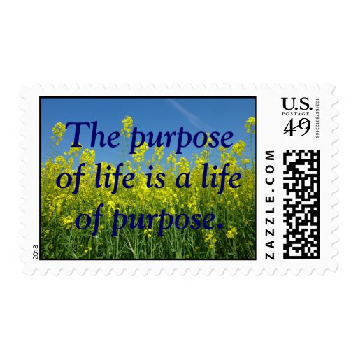 Inspirational nature postage stamps