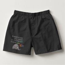 Inspirational Never Too Old Artistic Elephant Boxers