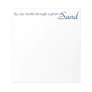 inspirational note pad, scratch pad, word art note pad