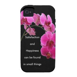 Inspirational Orchid Case-Mate iPhone 4 Cover