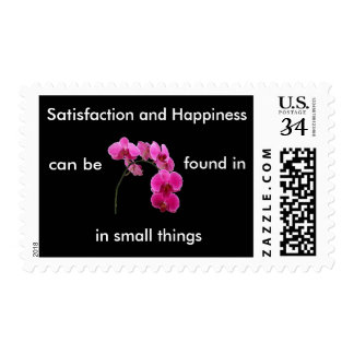 Inspirational Orchid Postcard Stamp