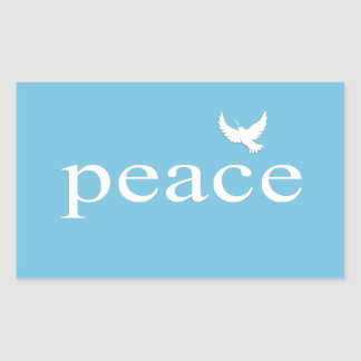 Inspirational Peace Quote Stickers