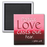 Inspirational Perfect Love Magnet at Zazzle