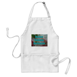 Inspirational Phrase Adult Apron