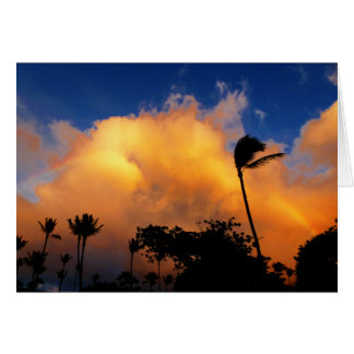 Inspirational Picture of Clouds with Rainbow Card