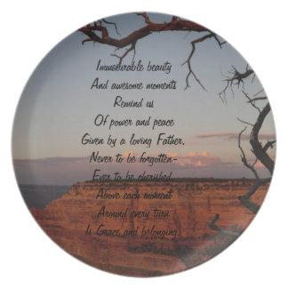 Inspirational Plate