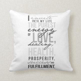 "Inspirational Polyester Throw Pillow 16"" x 16"""