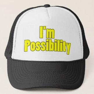 inspirational possibility trucker hat