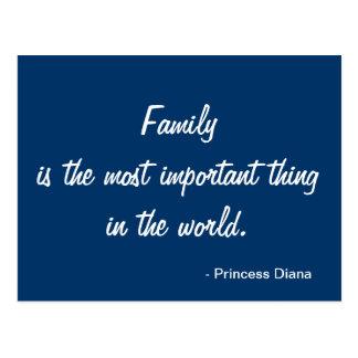 Inspirational Postcard - Family