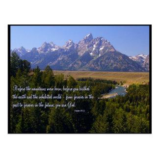 Inspirational PostCard - Tetons & Snake River